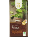 gepa bio dark mint 100g bar
