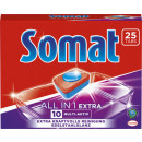 wholesale Cleaning: somat 10 all-1 tabs 25s sos25