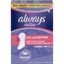 Always panty liner cott.norm.58er vt