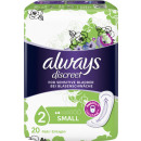 Always discreme incontinence small 20s