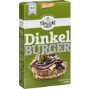 bauck organic spelled burger 160g bag