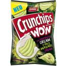 ingrosso Alimentari & beni di consumo: Lorenz crunchips wow creme wasab. Sacchetto da 110