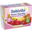 Bebivita himbeer-apfel-birne 6m, 4x100g