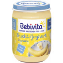 Bebivita organic yogurt banana 190g jar