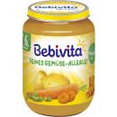Großhandel Nahrungs- und Genussmittel: Bebivita gemüse allerl.190g Glas