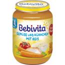 Großhandel Nahrungs- und Genussmittel: Bebivita menü huhn/gem.190g Glas