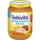 Großhandel Nahrungs- und Genussmittel: Bebivita menü spag/pute 190g Glas