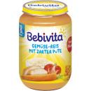 Großhandel Nahrungs- und Genussmittel: Bebivita menü reis/pute 220g Glas