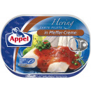 Appel herring fillet pepper-cr200g can