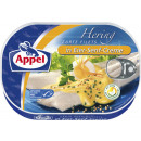 Appel herring filet mustard. 200g can