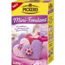 Pickerd Fondant 3x czerwony fioletowy różowy 150g