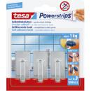 Tesa powerstrips hook s class. chrome