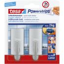 Tesa Powerstrips hook l class. chrome