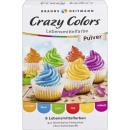 Lebensmitelfarbe crazy colors
