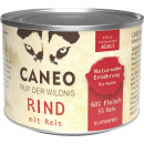petcura caneo beef + rice 200g can