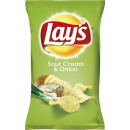 wholesale Food & Beverage: lays sour creme + on. 175g bag