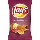 lays lays smoked bacon 175g bag