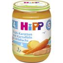 Großhandel Nahrungs- und Genussmittel: hipp menü kar/lachs 190g Glas