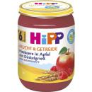 Großhandel Lebensmittel: hipp Frucht&Getreide bio himb/dink. Glas