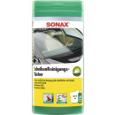 sonax window cleaner of some towels