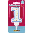 Dekoback number of candles 1 1st