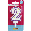 wholesale Candles & Candleholder: Dekoback number of candles 2 1st