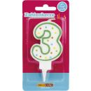 wholesale Other: Dekoback candle number 3 1st
