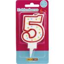 wholesale Other: Dekoback candle number 5 1st