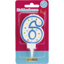 wholesale Other: Dekoback candle number 6 1st