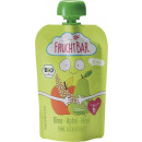 FruchtBar organic squeeze bag pear / millet 100g
