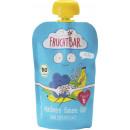FruchtBar organic squeeze bag blue / rice 100g bag