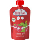 FruchtBar organic squeeze bag strawberry / apple 1