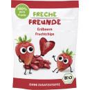 FunnyFrisch organische chips aardbei 12g