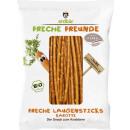 FunnyFrisch organic laugensticks carrot75g