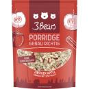Großhandel Nahrungs- und Genussmittel: 3bears porridge apfel-zimt400g Beutel