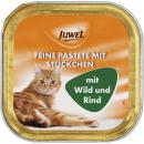 Großhandel Heimtierbedarf: juwel katze rind + wild 100g