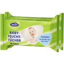 bornys baby wipes 2x80