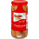 Every day bockwurst in a 5 / 250g jar