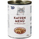 tip cat cattle + liver in sauce 415g can