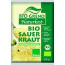 BioGreno bio sauerkraut bioland 520g Beutel