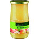 BioGreno organic apple compote 370ml glass