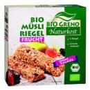 BioGreno organic musli bar fru. 150g