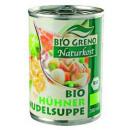 BioGreno organic chicken noodle soup 380ml tin