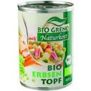 BioGreno liqueur de pois bio boîte 400g
