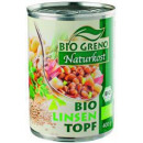 Ragoût de lentilles bioGreno bio, boîte de 400 g