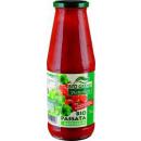 BioGreno bio tomaten pas.basil. 690g Glas