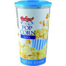 Großhandel Süßigkeiten: Hofgut popcorn salzig becher 45g Becher