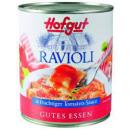 Hofgut ravioli tomatensauce850ml Dose