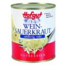 Großhandel Lebensmittel: Hofgut weinsauerkraut 850ml Dose