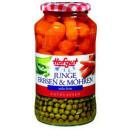 Großhandel Nahrungs- und Genussmittel: Hofgut erbsen sehr fein mitmöhren720ml Glas